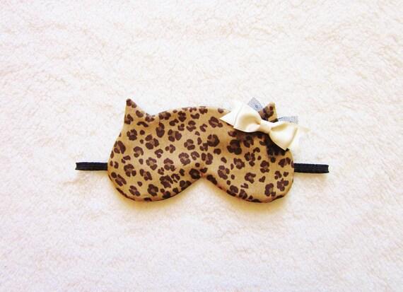 Leopard Cat Sleep Eye Mask