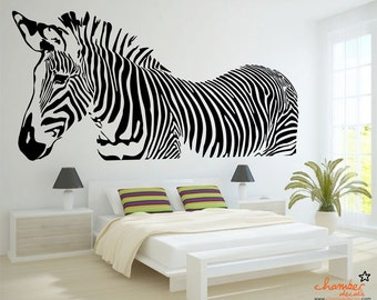 Etonnant Zebra Wall Decal
