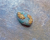 Cowslip- polymer clay focal bead