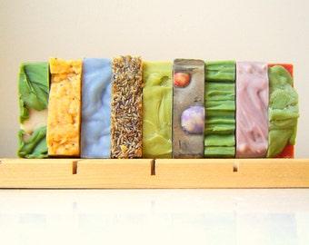 CHOOSE SEVEN - Handmade Bath Soap Set - 7 Artisan Soaps