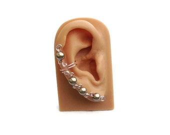 Ear Cuff Light Cocoa Right Ear