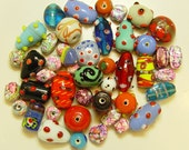 India Glass Beads Mixed Colors and Shapes 5 to 18mm Mix 2