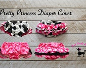 Baby Diaper Cover Pattern PDF Sewing Pattern, Baby, Girls, Instant Download...The Pretty Princess Diaper Cover Newborn-24months