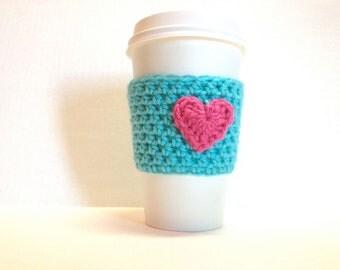 Coffee Cozy /  Coffee Sleeve / Coffee Gift / Coffee Lover / Coffee Favors / Coffee Koozie / Coffee Wedding Favor / Coffee Warmer