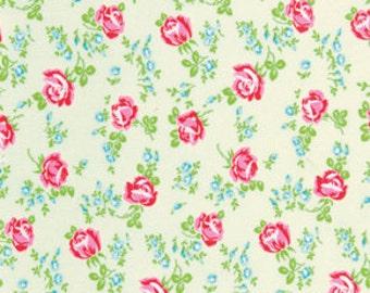 Free Spirit by Tanya Whelan Sugar Hill Flannel Ivory 1 YARD CUT