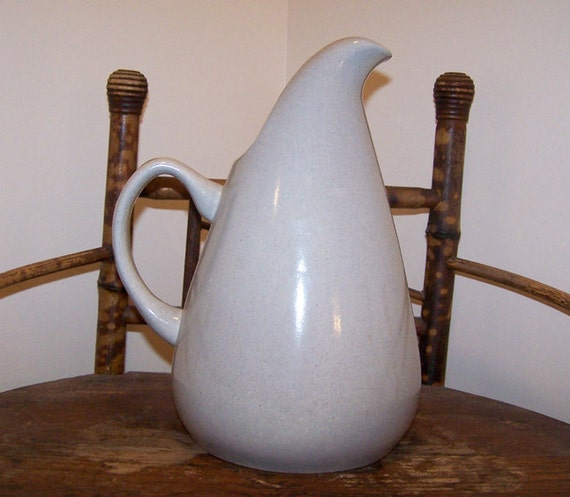 Mid century modern russell wright tall pitcher by 2numerous - Russel wright pitcher ...