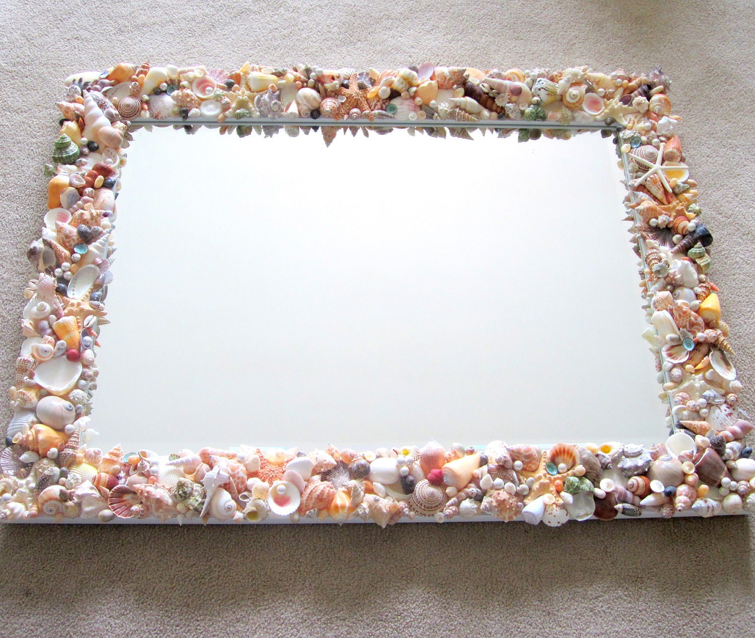 Beveled edge mirror  Etsy UK