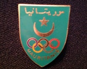 Mauritania NOC Pin - Olympic Pins For Sale