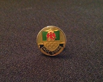 Nigeria NOC Pin - Olympic Pins For Sale