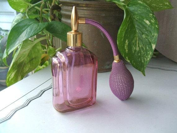 Vintage verrerie cristallerie d 39 arques perfume atomizer for Arc decoration arques