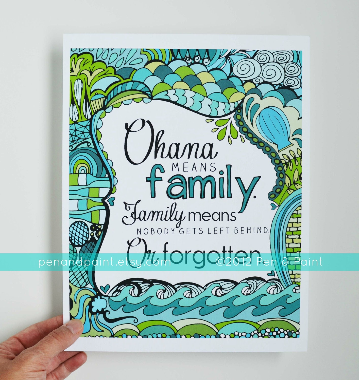 how to say i love my family in hawaiian