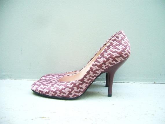 8.5 pink vintage shoes