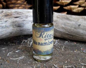 Rita's Vanamberwood Hand Brewed Ritual Oil - UNISEX - Creativity, Success, Sexual Energy - Hoodoo, Pagan, Magic, Witchcraft