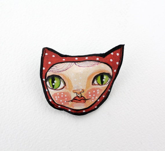 Cat Rascle brooch