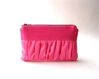 BLACK FRIDAY - The True Romantic Coin Purse in hot pink / pink