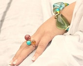 SALE - CUSTOM created Jewels - your choice of style - wire wrapped RING