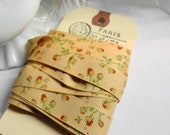Made in France Wired Sateen Ribbon