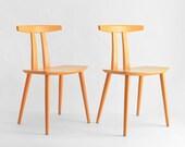 Vintage FDB Møbler Chairs - Mid Century, Modern, Danish, Wood, Retro
