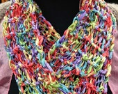 Cosmic Party Moebius and Infinity Scarf or Cowl Patterns