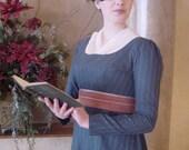 CUSTOM Regency Jane Austen Chiffon Fichu Neck Shawl Scarf
