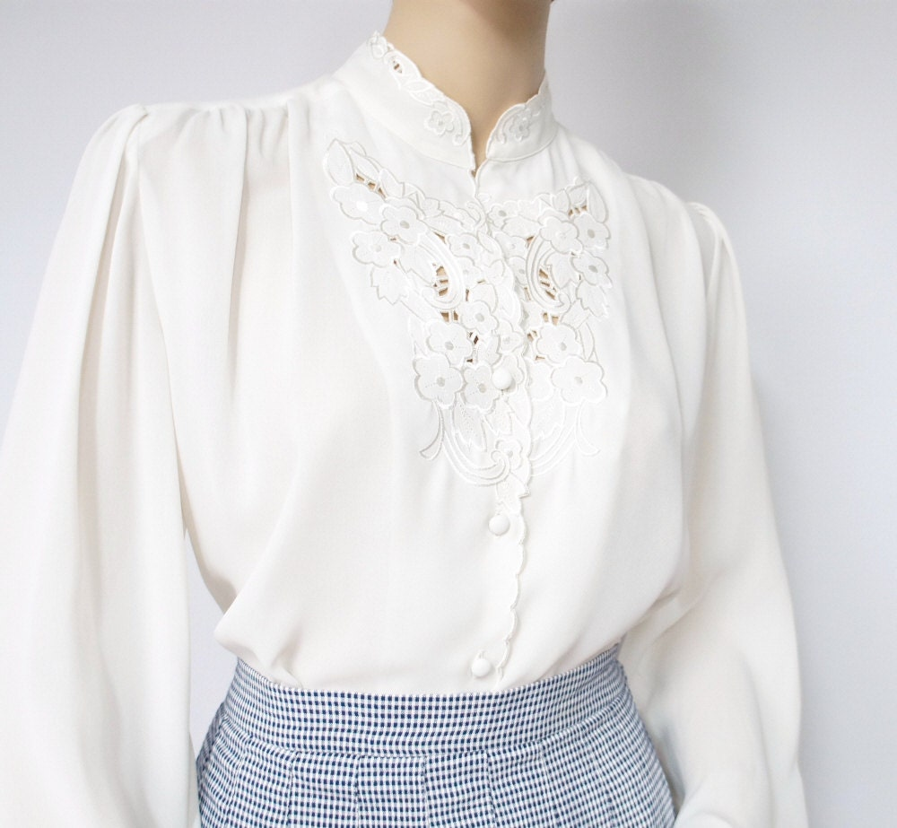 Womens Ivory Blouse 98