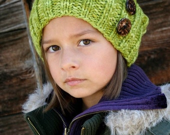 Knitted Hat PATTERN ... PDF instand download ... Chunky Slouchy Stull Cap