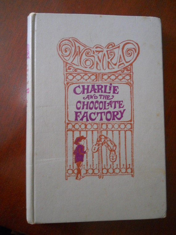 charlie  u0026 the chocolate factory 1964 hardcover book