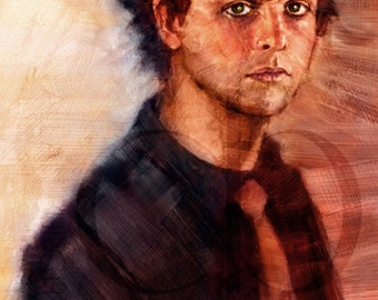 Billie Joe Armstrong of Green Day - Limited Edition Print 8.5 x 11