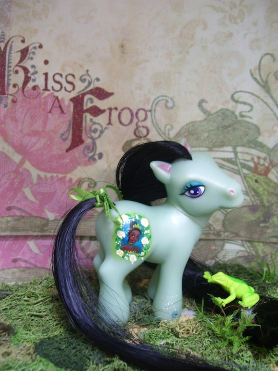 Custom My Little Pony - Princess Tiana - Green