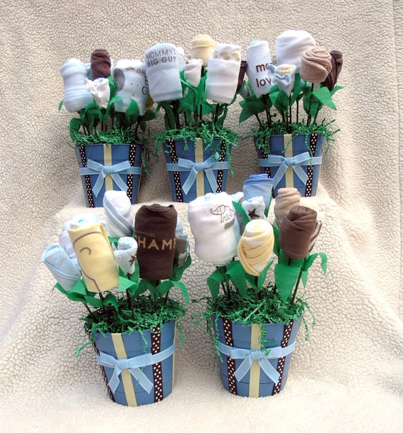 Baby Gift Decoration Ideas : Baby shower decorations boy centerpieces table by