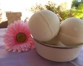 Lavender Bath Bomb Set of 3 VEGAN Friendly Fizzies