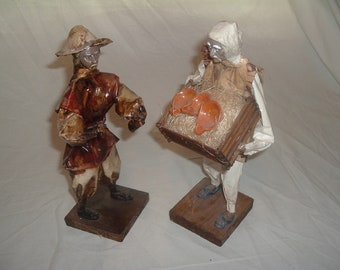 Vintage paper mache MEXICAN folk  art