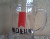SALE Vintage Michelob Mug 80s drinks snacks coins