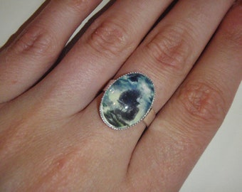 Ghost Ship altered art ring