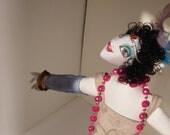 Fiona The Flapper Girl OOAK Art Doll