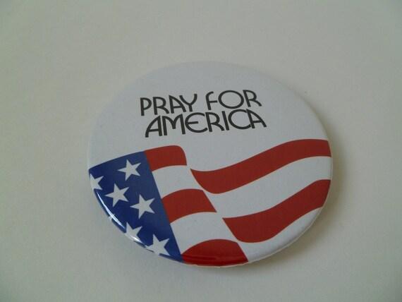 Pray for America Magnet