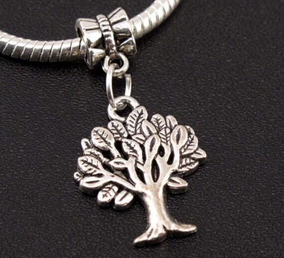 Tree of Life Charm - Fits European Style Bracelets