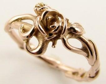 Rose Garden Ring in Rose Gold