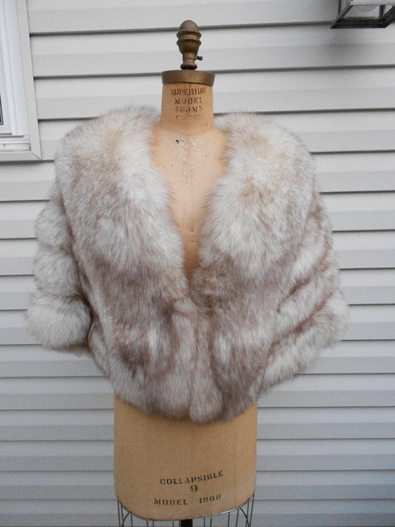 Fox Fur Stole / Vintage  Fox Stole