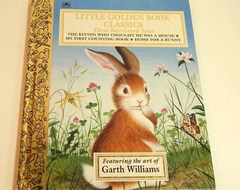 Little Golden Book Classics Featuring The Art Of Garth Williams