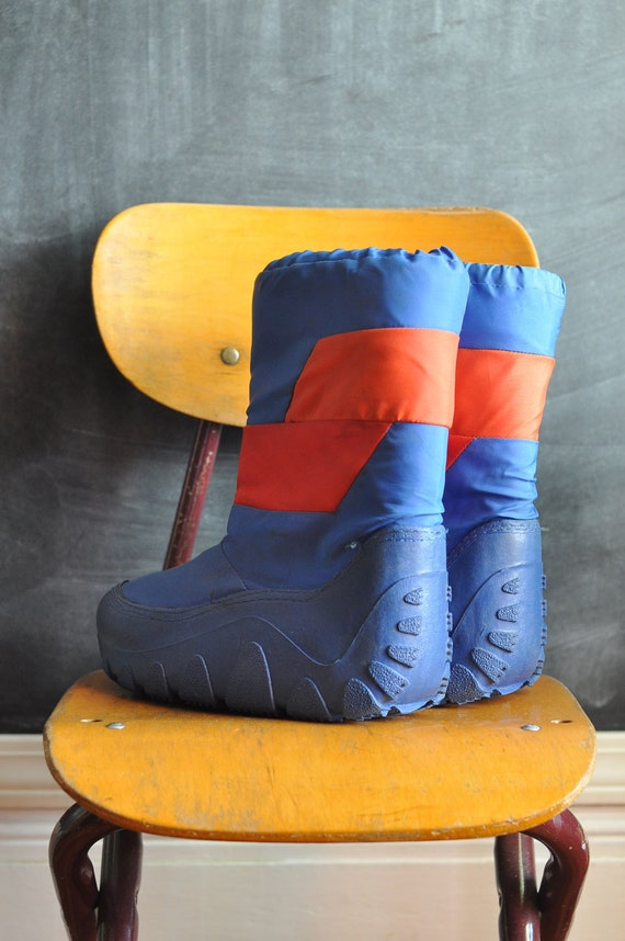 Vintage 1980s Blue Moon Boots Napoleon Dynamite Costume