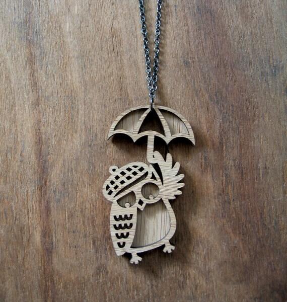 Owl Wanderer Pendant