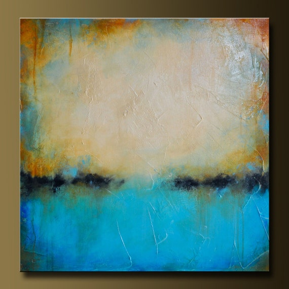Weathered 2 - 30 x 30 - Abstract Acrylic Painting- Contemporary Wall Art