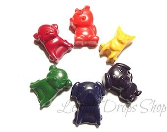 Puppy crayons set of 6