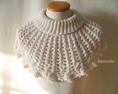 WALDA, Knitting & crochet cowl pattern pdf