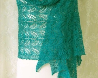 HEMINGWAY, Knitting shawl pattern pdf