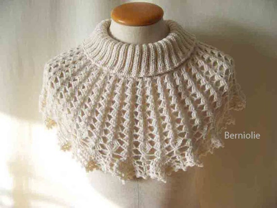 WALDA, Knitting/crochet cowl pattern, PDF