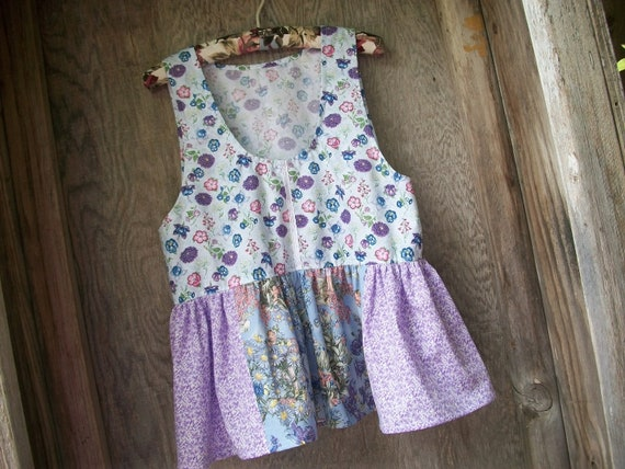 Pixie Garden Tunic Top Baby Doll Style
