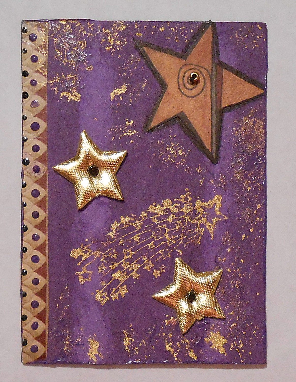 purple and gold stars - photo #8