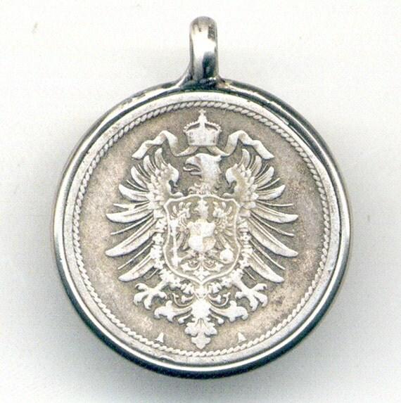 German Coin Pendant (E-522)